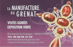Manufacture du grenat